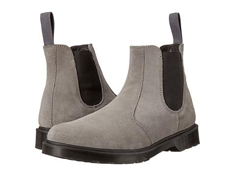 Incaltaminte Barbati Dr Martens 2976 Chelsea Boot Grey Mare Hi Suede WPGuesset Elastic