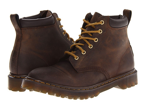 Incaltaminte Barbati Dr Martens 939 6-Eye Padded Collar Boot Gaucho Rugged Crazy Horse