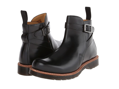 Incaltaminte Barbati Dr Martens Kenton Dealer Boot Black Polished Smooth