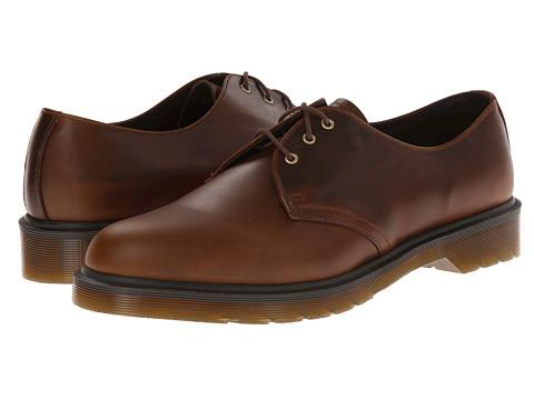 Incaltaminte Barbati Dr Martens 1461 PW 3-Eye Shoe Smokethorn Brando