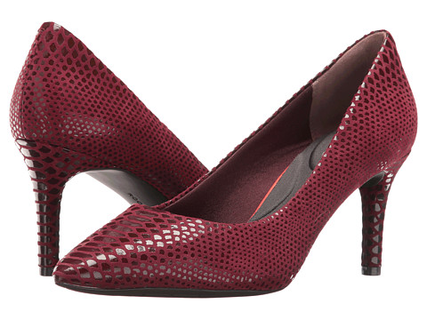 Incaltaminte Femei Rockport Total Motion 75mm Pointy Toe Pump Cabernet Boa Snake