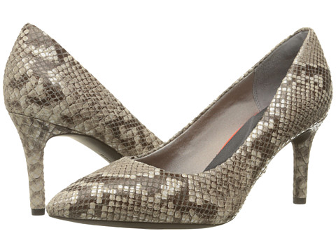 Incaltaminte Femei Rockport Total Motion 75mm Pointy Toe Pump Roccia Python