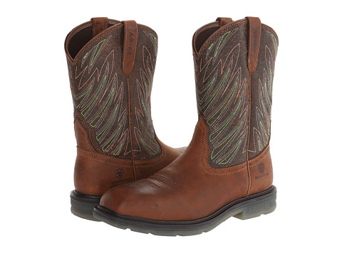 Incaltaminte Barbati Ariat Maverick Wide Square Toe Comp Toe DesertBrown