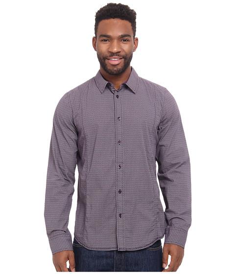 Imbracaminte Barbati Prana Lukas Shirt Black Plum