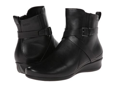 Incaltaminte Femei ECCO Abelone Cross Buckle Boot Black