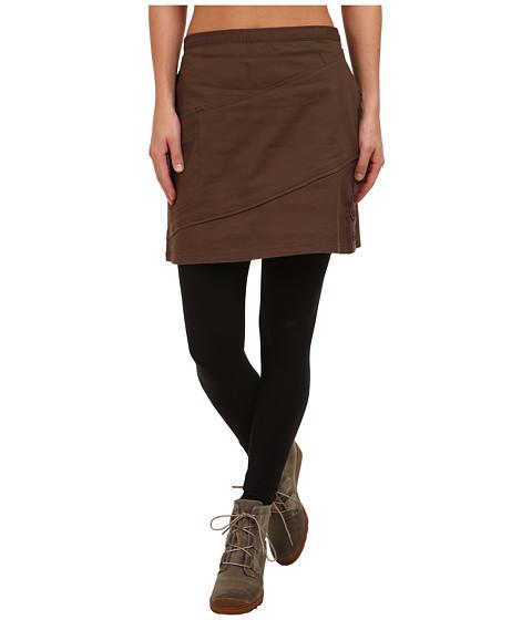 Imbracaminte Femei ToadCo Checkov Skirt Turkish Coffee