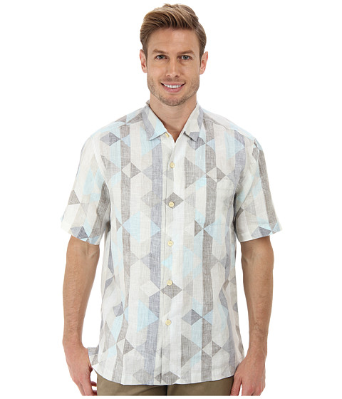Imbracaminte Barbati Tommy Bahama Linen The Diamond Life SS Camp Shirt Continental