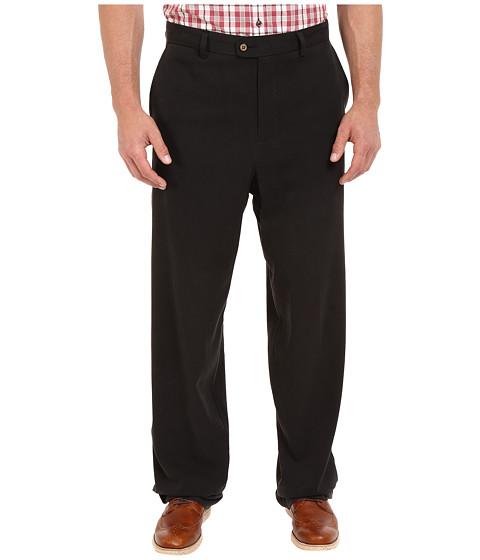 Imbracaminte Barbati Tommy Bahama Big amp Tall Coastal Twill Flat Front Pant Black