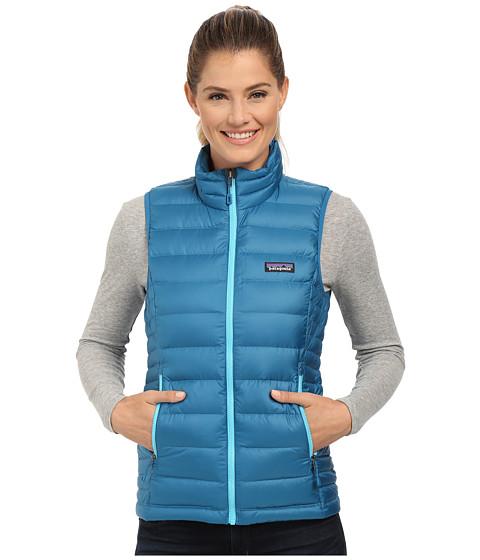 Imbracaminte Femei Patagonia Down Sweater Vest Underwater Blue