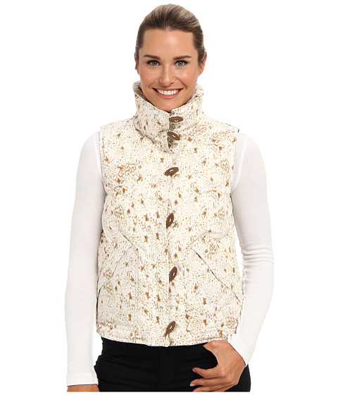 Imbracaminte Femei Patagonia Toggle Down Vest Give A HootBirch White