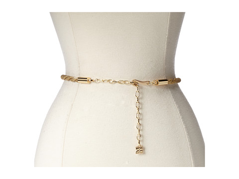 Accesorii Femei BCBGMAXAZRIA Twisted Chain Waist Belt Gold