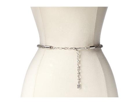 Accesorii Femei BCBGMAXAZRIA Twisted Chain Waist Belt Silver