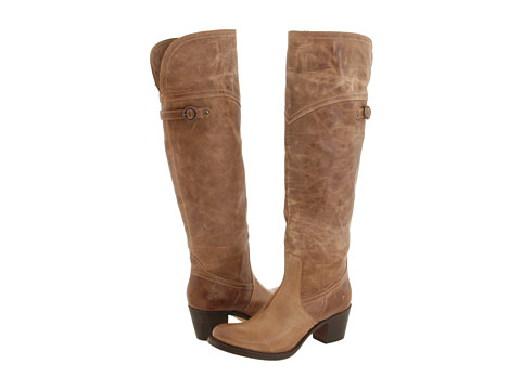 Incaltaminte Femei Frye Jane Tall Cuff Tan Burnished Leather