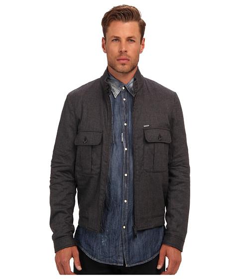 Imbracaminte Barbati DSQUARED2 Stretch Wool Flannel Jacket Grey