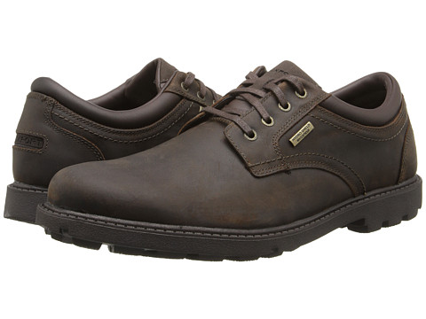 Incaltaminte Barbati Rockport Storm Surge Water Proof Plain Toe Oxford Tan