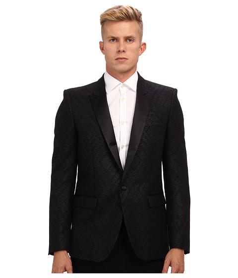 Imbracaminte Barbati Just Cavalli Diamond Pattern Blazer Black