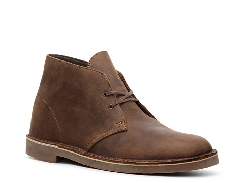 Incaltaminte Barbati Clarks Bushacre Leather Chukka Boot Brown