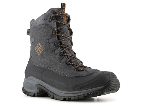 Incaltaminte Barbati Columbia Bugaboot Snow Boot GreyBlackOrange