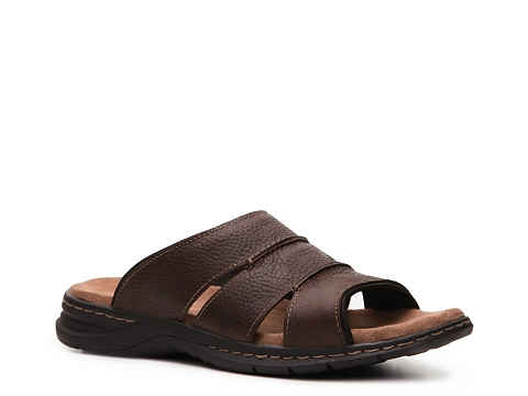 Incaltaminte Barbati Dr Scholl's Dr Scholls Shoes Gordon Slide Sandal Brown