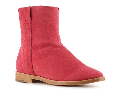 Cizme Femei Joie Pinyon Western Bootie Red