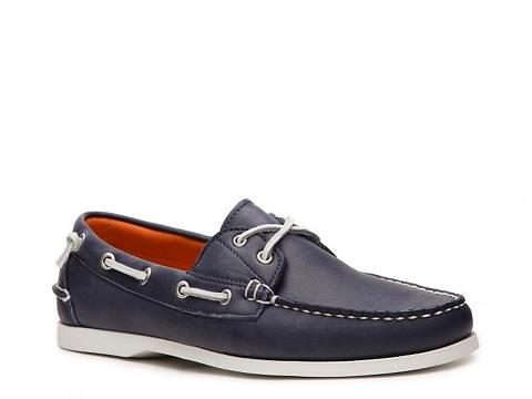 Incaltaminte Barbati Ralph Lauren Collection Telford II Leather Boat Shoe Navy