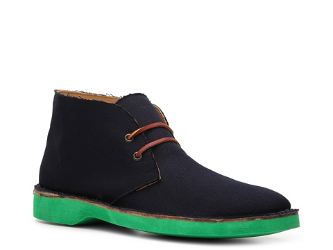 Incaltaminte Barbati Ralph Lauren Collection Randon Canvas Chukka Boot Navy BlueGreen