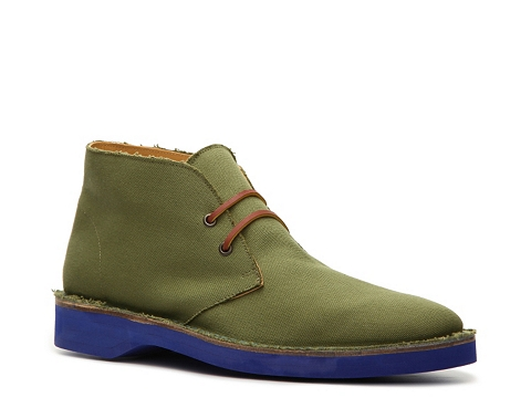 Incaltaminte Barbati Ralph Lauren Collection Randon Canvas Chukka Boot Olive GreenBlue