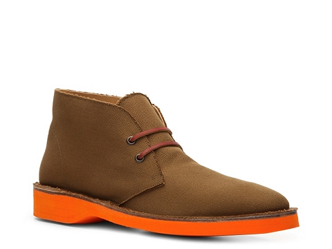 Incaltaminte Barbati Ralph Lauren Collection Randon Canvas Chukka Boot TanOrange
