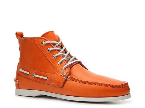 Incaltaminte Barbati Ralph Lauren Collection Telford Leather Chukka Boot Orange
