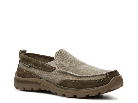 Incaltaminte Barbati SKECHERS Relaxed Fit Superior Melvin Slip-On Sneaker Tan