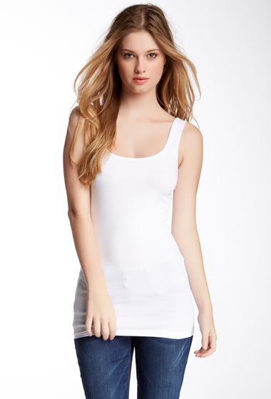 Imbracaminte Femei Abound Double Scoop Tunic Tank WHITE