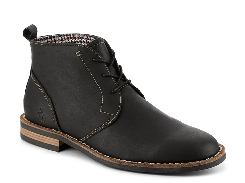 Incaltaminte Barbati Original Penguin Merle Chukka Boot Black