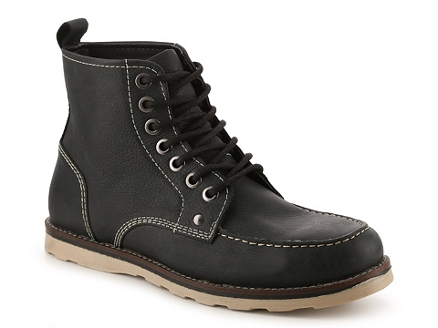 Incaltaminte Barbati Crevo Buck Moc Toe Boot Black