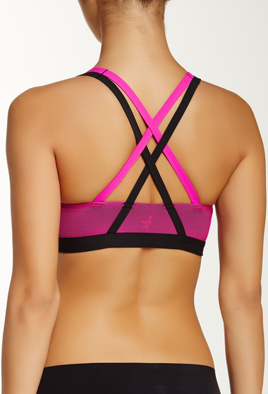 Imbracaminte Femei Josie Ampd Sports Bra BLACK-PINK