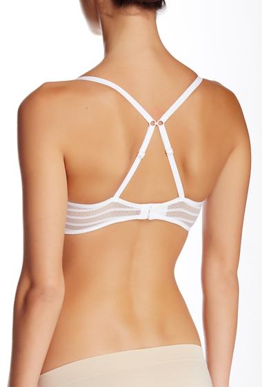 Imbracaminte Femei Betsey Johnson Stocking Stripe Underwire T-Shirt Bra WHITE