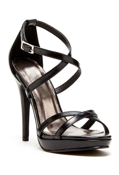 Incaltaminte Femei Michael Antonio Tarten Metallic Sandal BLACK