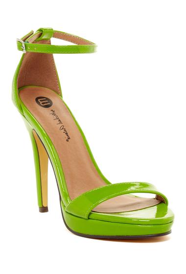 Incaltaminte Femei Michael Antonio Lovina Island Platform Sandal Lime 2