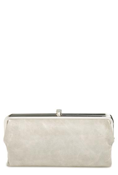 Accesorii Femei Hobo Lauren Leather Clutch Wallet CLOUD