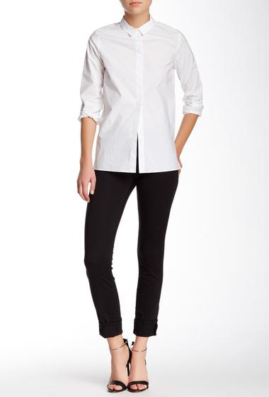 Imbracaminte Femei J Brand Rail Mid Rise Skinny Pant BLACK