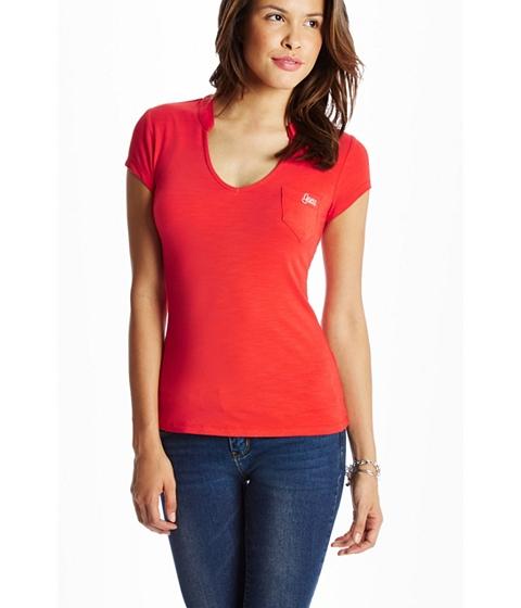 Imbracaminte Femei GUESS Marie Tee rockin red