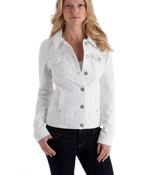 Imbracaminte Femei GUESS Alisana Denim Jacket White white
