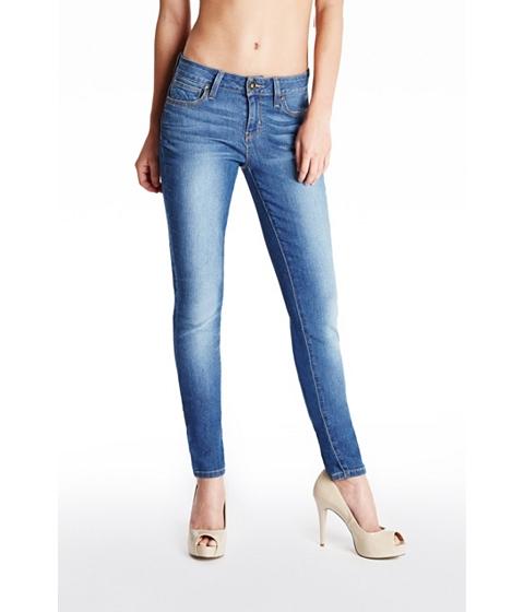 Imbracaminte Femei GUESS Sienna Curvy Skinny Jeans in Medium Wash medium wash