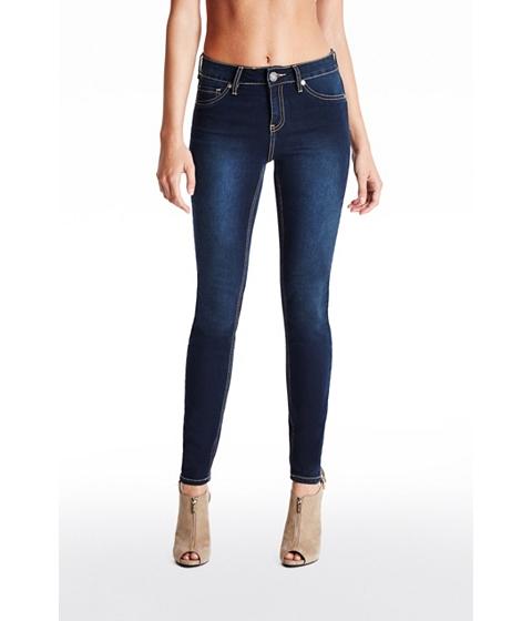 Imbracaminte Femei GUESS Tahiana High-Rise Skinny Jeans dark wash