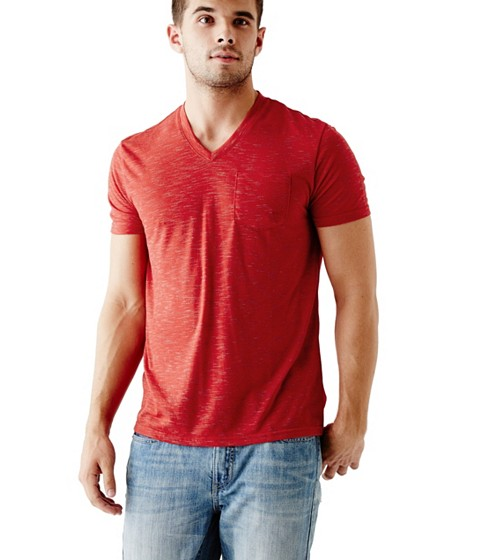 Imbracaminte Barbati GUESS William Tee red hot