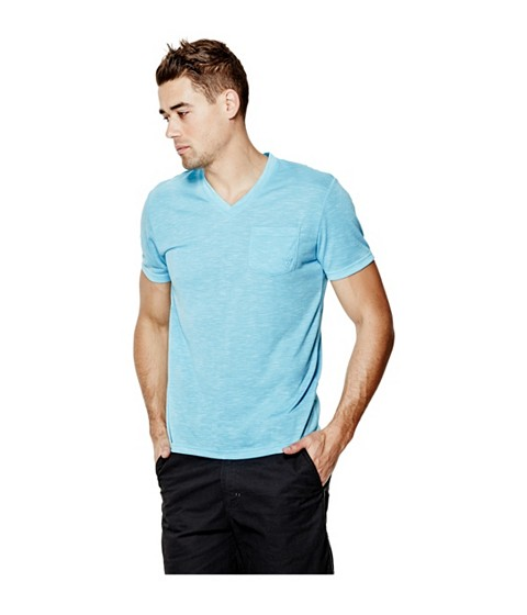Imbracaminte Barbati GUESS William Tee river blue