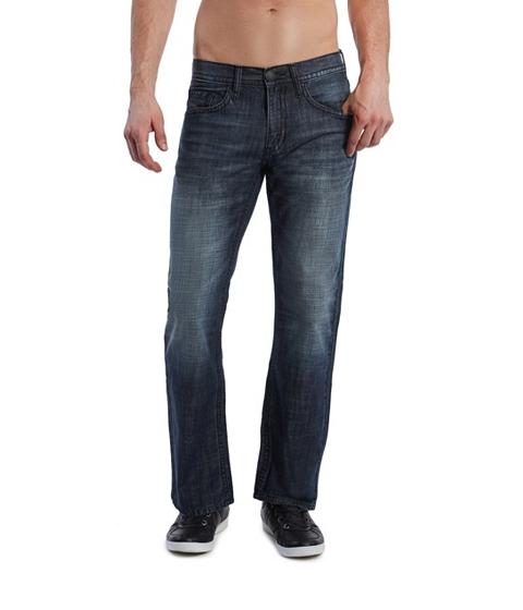 Imbracaminte Barbati GUESS Rowland Relaxed Straight Leg Jean - Dark Wash dark wash 34
