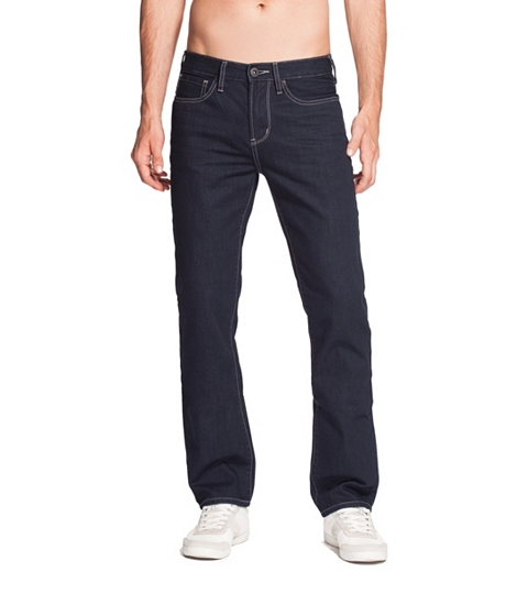 Imbracaminte Barbati GUESS Del Mar Slim Straight Leg Jean - Midnight Wash dark wash