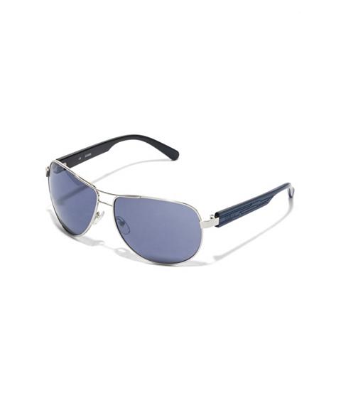 Ochelari Barbati GUESS Textured-Arm Aviator Sunglasses annalise wash