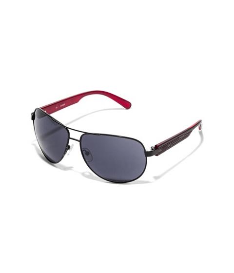 Ochelari Barbati GUESS Textured-Arm Aviator Sunglasses black
