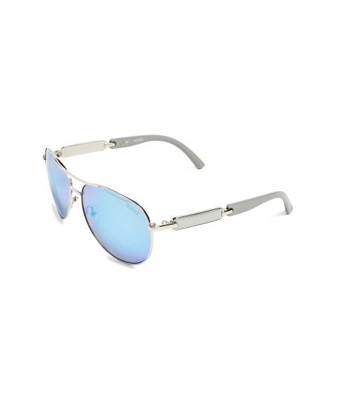 Ochelari Femei GUESS Mirrored Aviator Sunglasses nv- navy